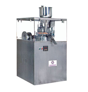 Rotary Tableting Machine, SINGLE SIDED ROTARY TABLETING MACHINE cGMP / Standard, Tableting Machinery, Tableting Machineries India, Tableting Machineries India Gujarat
